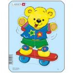 Larsen-Y1-2 Frame Jigsaw Puzzle - Teddy Bears