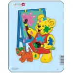 Larsen-Y1-3 Frame Jigsaw Puzzle - Teddy Bears