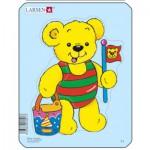 Larsen-Y1-4 Frame Jigsaw Puzzle - Teddy Bears