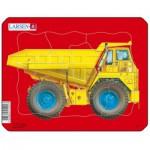 Larsen-Z1-1 Frame Jigsaw Puzzle - Dump Truck
