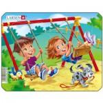 Larsen-Z10-2 Frame Jigsaw Puzzle - Playground