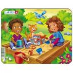 Larsen-Z10-3 Frame Jigsaw Puzzle - Playground