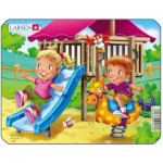 Larsen-Z10-4 Frame Jigsaw Puzzle - Playground