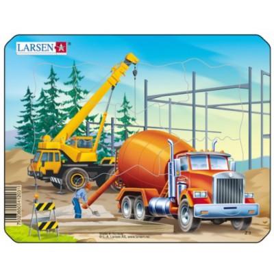 Larsen-Z3-2 Frame Jigsaw Puzzle - Construction