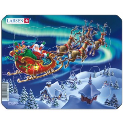 Puzzle Larsen-Z5 Santa in Nordic Light