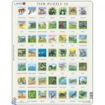 Larsen-ZOO3-DE Frame Jigsaw Puzzle - Zoo (in German)