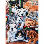Puzzle  Master-Pieces-31366 XXL Pieces - Hide and Seek