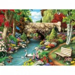 Puzzle  Master-Pieces-31401 XXL Pieces - Willow Whispers