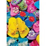 Puzzle  Master-Pieces-31526 World's Smallest - Flippity Flops