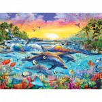Puzzle  Master-Pieces-31609 XXL Pieces - Sea of Eden