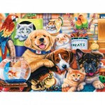 Puzzle  Master-Pieces-31650 XXL Pieces - Home Wanted