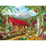 Puzzle  Master-Pieces-31654 XXL Pieces - Mountain Hideaway