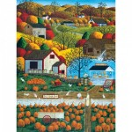 Puzzle  Master-Pieces-31676 XXL Pieces - Autumn Morning