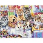 Puzzle  Master-Pieces-31725 XXL Pieces - Sweet Things