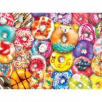 Puzzle  Master-Pieces-31845 XXL Pieces - Donut Resist