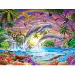 Puzzle  Master-Pieces-31850 XXL Pieces - Fantasy Isle