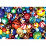 Puzzle  Master-Pieces-31854 Mini Pieces - World's Smallest - All My Marbles
