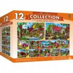 Master-Pieces-31865 12 Puzzles - Alan Giana
