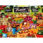 Puzzle  Master-Pieces-31868 XXL Pieces - Farmers Market
