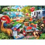 Puzzle  Master-Pieces-31900 XXL Pieces - Little Rascals