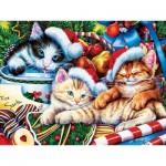 Puzzle  Master-Pieces-31911 XXL Pieces - Holiday Treasures