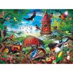 Puzzle  Master-Pieces-31916 XXL Pieces - Farmland Frolic