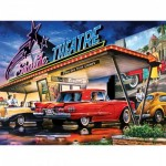 Puzzle  Master-Pieces-31929 Starlite Drive-In