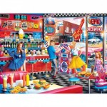 Puzzle  Master-Pieces-31930 Good Times Diner