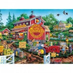 Puzzle  Master-Pieces-31931 Antique Barn