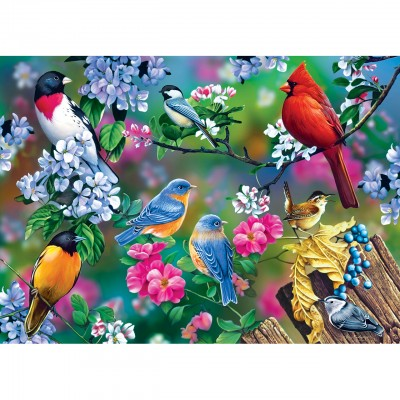 Puzzle Master-Pieces-31977 Songbird Collage
