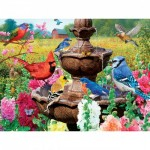 Puzzle  Master-Pieces-31983 Glow in the Dark - Garden of Song