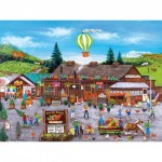 Puzzle  Master-Pieces-31985 Sunny Farms