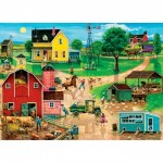 Puzzle  Master-Pieces-32005 XXL Pieces - After the Chores