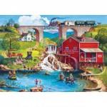 Puzzle  Master-Pieces-32007 XXL Pieces - Labor Day 1909