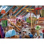 Puzzle  Master-Pieces-32041 Attic Secrets