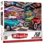 Puzzle  Master-Pieces-32053 Collector's Garage