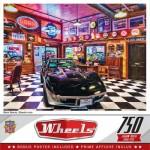 Puzzle  Master-Pieces-32082 Wheels Black Beauty