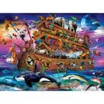 Puzzle  Master-Pieces-32103 XXL Pieces - Noah's Ark