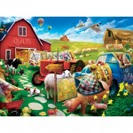 Puzzle  Master-Pieces-32106 XXL Pieces - Quilt Country