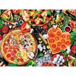 Puzzle  Master-Pieces-32108 XXL Pieces - Viva la Pizza