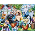 Puzzle  Master-Pieces-32110 XXL Pieces - Washing Time