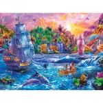 Puzzle  Master-Pieces-32121 XXL Pieces - Tropics Paradise Found