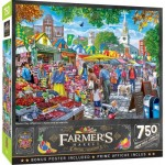 Puzzle  Master-Pieces-32136 Farmers Market