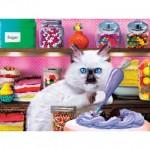Puzzle  Master-Pieces-32150 Pièces XXL Pieces - Kitten Cake Shop