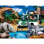 Puzzle  Master-Pieces-32152 XXL Pieces - Watering Hole