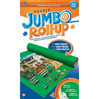 Master-Pieces-50530 Puzzle Mat - Jumbo Puzzle Roll-Up in a Box : Up to 3000 pieces