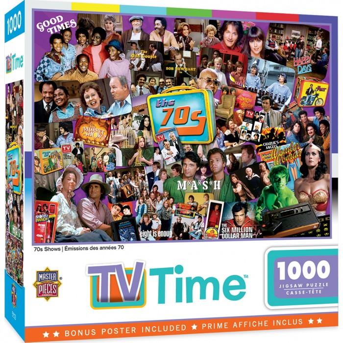 70's Shows Puzzle 1000 pieces