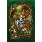 Puzzle  Master-Pieces-71143 Alice in Wonderland