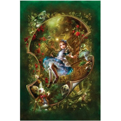 Puzzle Master-Pieces-71143 Alice in Wonderland