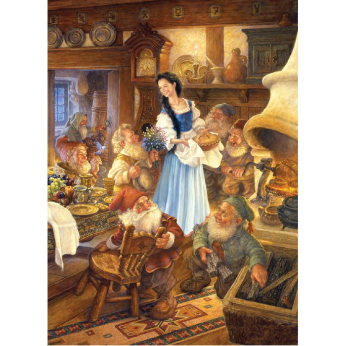 Blanche Neige and the 7 Dwarfs